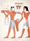 lithograph ancient egypt